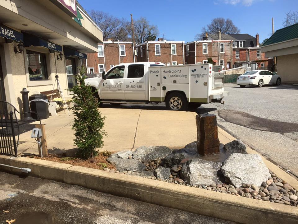 Jenkintown water feature