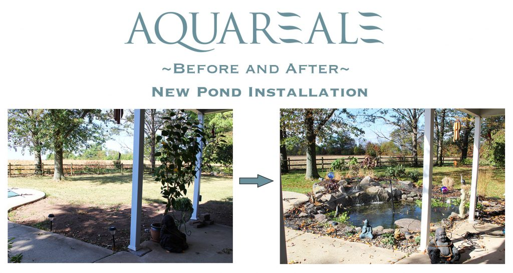 Horsham, PA pond installation