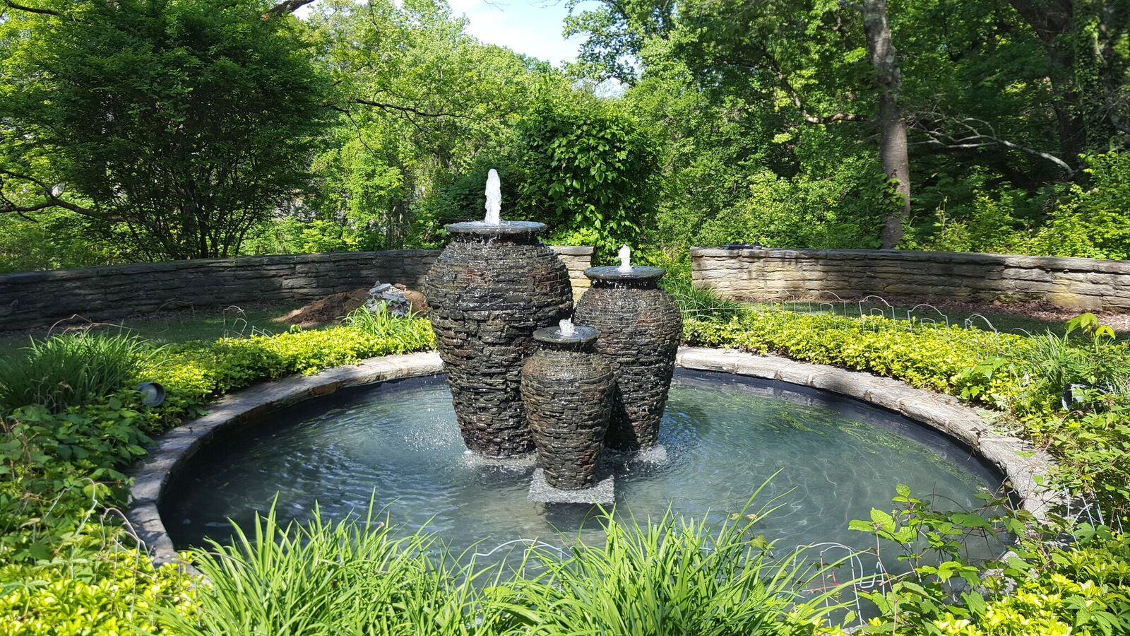 Bucks County Fountain Installation
